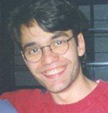 Victor Alvarez in Berlin sometime in the summer of 1997