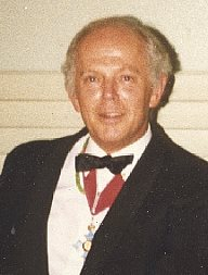 Malcolm Williamson in France in 1982